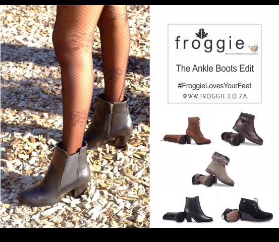 abec7c9d706 Hot Ankle Boots   Autumn/Winter Collection   Froggie