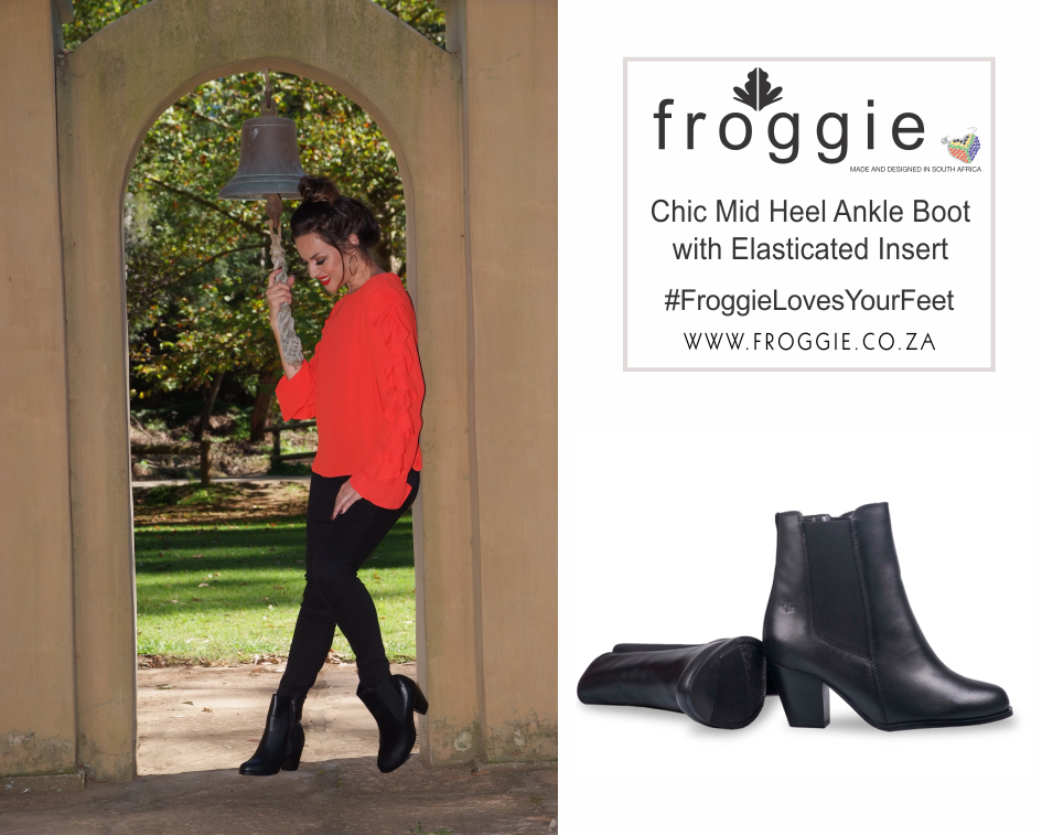This Mid Heel Ankle Boots is A Favourite of Froggie Winter Shoe Styles
