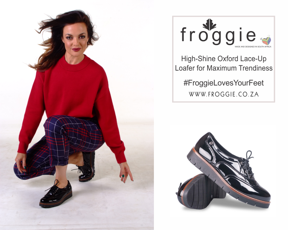 Froggie Presents You with a High-Shine Loafer with A Twist