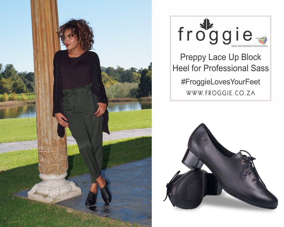 Go For a Preppy Look With Froggie Lace-Ups