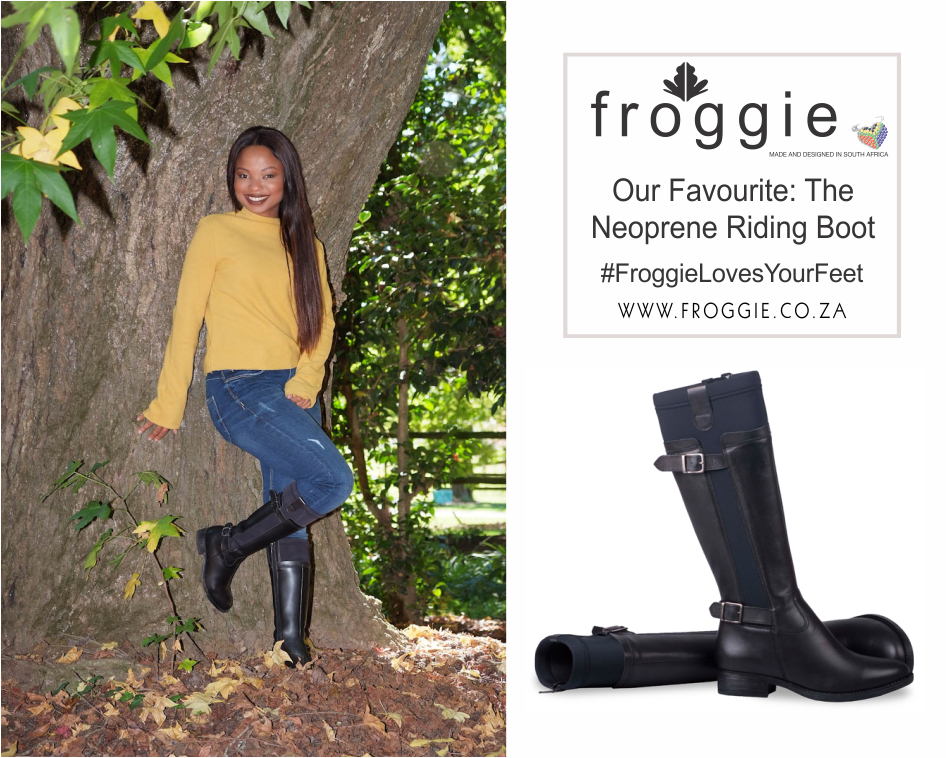 Classic Neoprene Riding Boots from Froggie