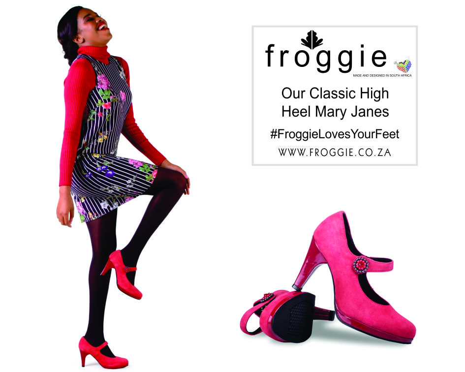 Strut Your Stuff in Froggie High Heel Mary Jane Shoes