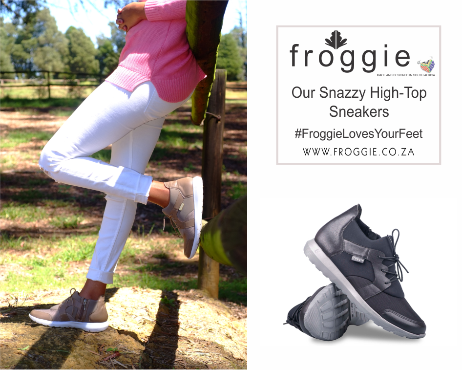 Refresh Your Style with the Froggie High-Top Sneakers