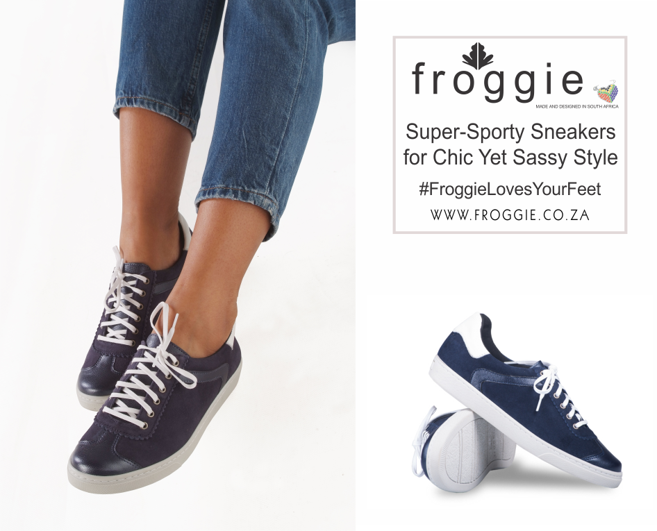 Continue the Athleisure Trend with a Pair of Sporty Sneakers from Froggie