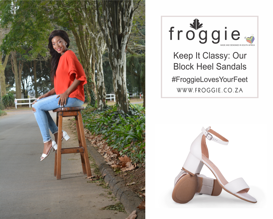 Capture Hearts this Spring with Our Block Heel Sandals in White