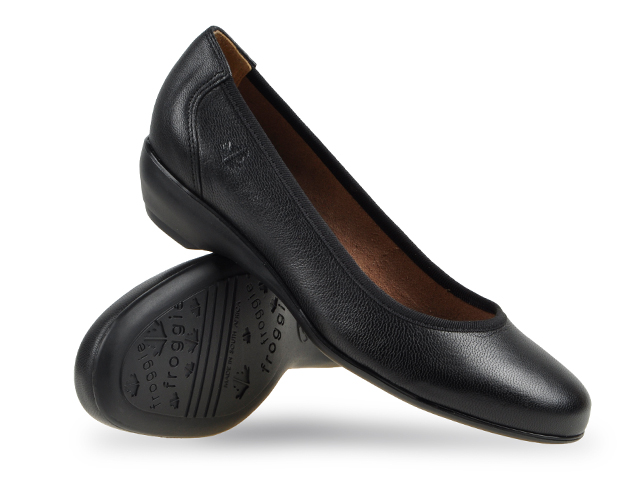 Classic Comfort with Froggie's Wider Fit Court Shoes