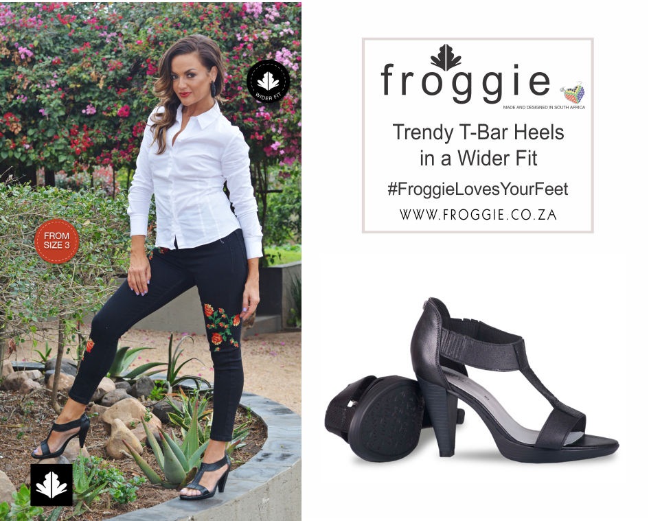 Gorgeous T-Bar Heels in a Wider Fit from Froggie