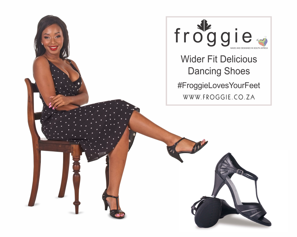 Delicious Dancing Shoes in a Comfortable Wider Fit from Froggie