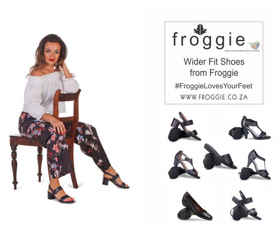Wider Fit Shoes from Froggie | Ladies