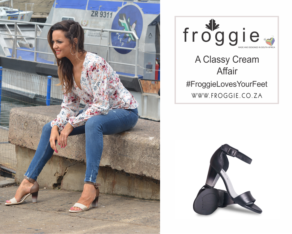 Froggie Block Heel Sandals